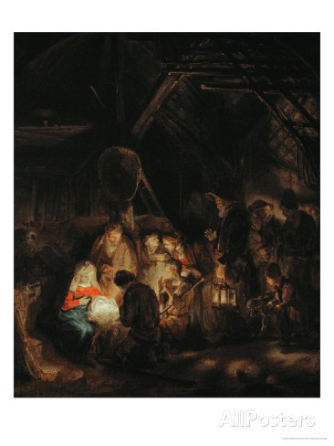 rembrandt-van-rijn-adoration-of-the-shepherds-1646