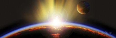 panoramic-images-sunrise-over-earth